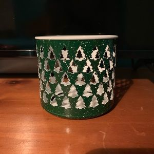 Bath & body works Christmas 3 wick candle holder